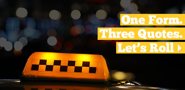 3 Taxi Cab Driver Insurance Agents Compete for Your Coverage