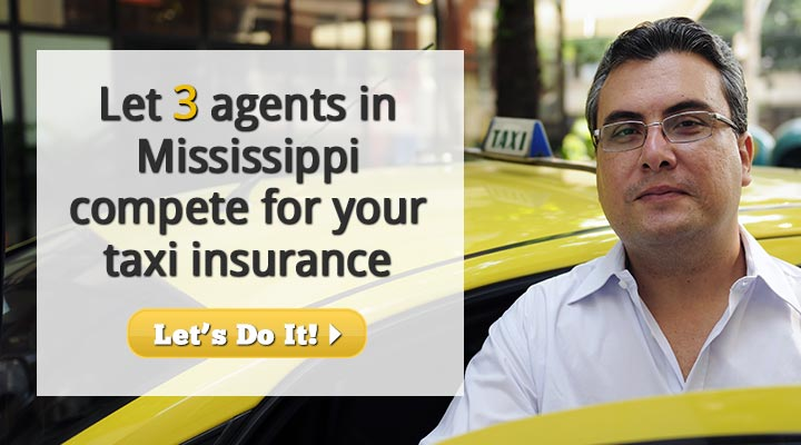 Mississippi Taxi Insurance Quotes