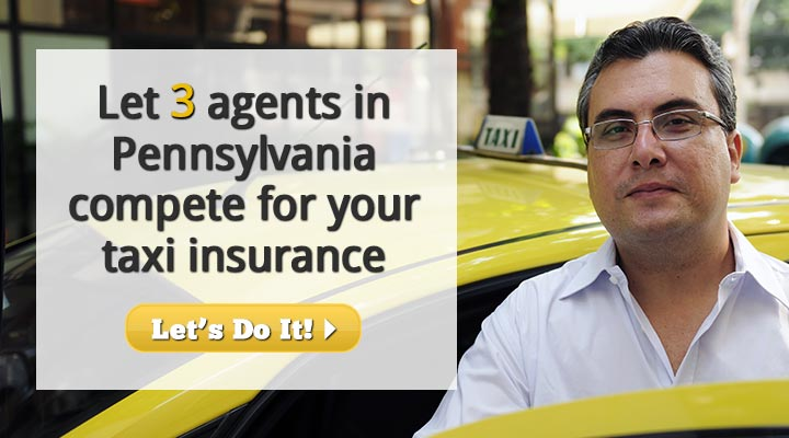 Pennsylvania Taxi Insurance Quotes