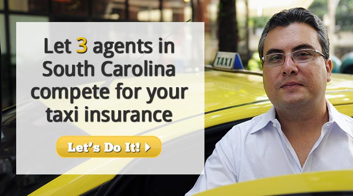 South Carolina Taxi Insurance Quotes