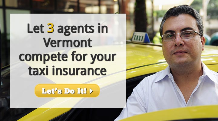 Vermont Taxi Insurance Quotes
